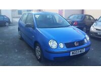2003 VW POLO 1.2L 5 DOORS