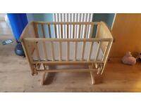 Mothercare wooden glider crib ***Reduced price!!***