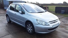 Peugeot 307 Doors Silver x 4 Available