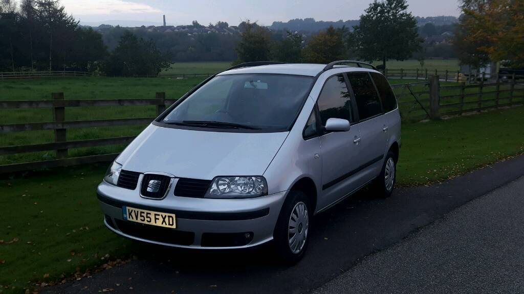 Seat Alhambra 1.9 TDI one owner cambelt water pump tensioner done great family 7-seater