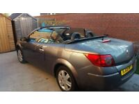 2005 Renault Meganne coupe convertible Karmann 1.9dci 6 speed