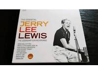JERRY LEE LEWIS. THE ESSENTIAL COLLECTION. 2 CDS.NEW.