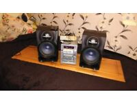 Speakers+Amplifier stereo system