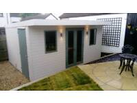 New high quality garden rooms summer houses and playhouses