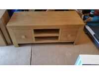 Next Oak TV Cabinet