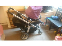 icandy apple to pear double pushchair