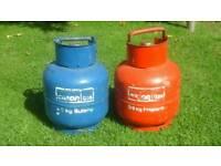calor gas bottles completely full