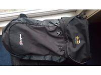 Backpack, travelling, berghaus