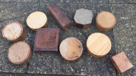 Wood turning bowl blanks - woodturning