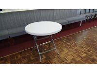 Folding Table 80cm Round