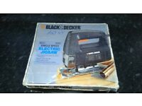 Black&decker electric jigsaw in very good condition full working order!can deliver or post!