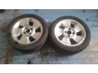 Ford puma fan alloys x2