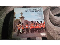 The world of military bands vintage vinyl lp record