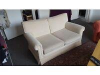 Cream sofa £10