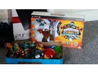 Skylanders Trap Team & Swap Force games for PS3 plus 16 figures, base sets and 6 traps
