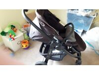 Graco evo pushchair and car seat travel system