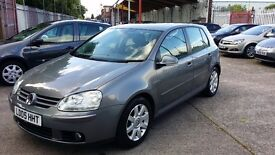 05 automatic golf 2.0 fsi petrol 90k with full service history cambilt changed full heated leather