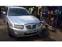 2004 Rover 75 Connoisseur Se Estate 1.8L Petrol Silver BREAKING FOR SPARES
