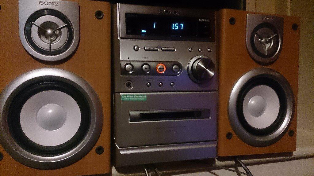 Sony CMT-NE5 Micro HI-FI system MP3