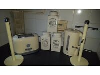 cream kitchen set