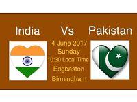 Pakistan vs India ICC champion trophy