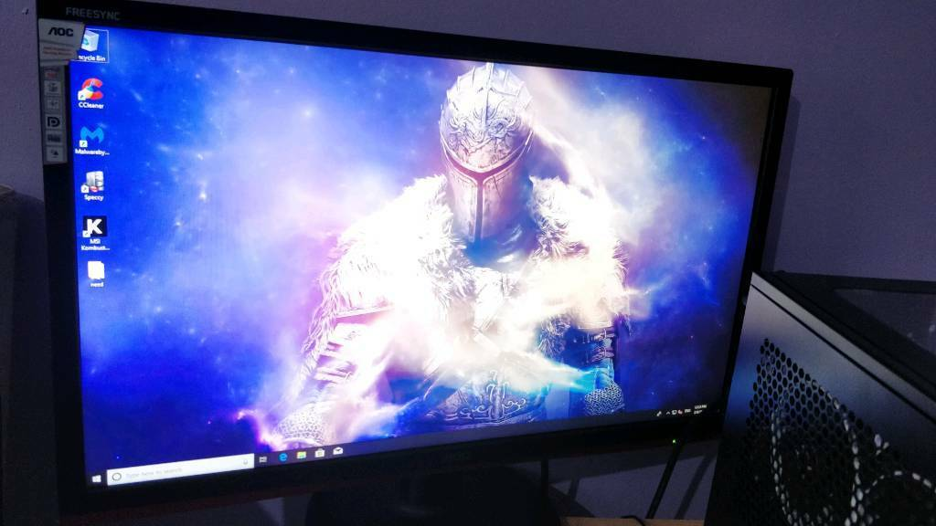 Gaming pc & gaming monitor  RX 570 8GB graphics card, ssd, | in Bolton,  Manchester | Gumtree