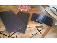 Job lot of catering slate