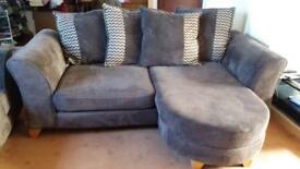 2 x Marni Brown sofas.