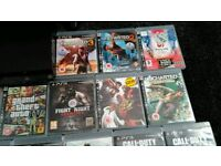 Ps3 slim 240 gig 15 top games