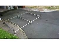 Vw transporter t4 stainless steel roof rack