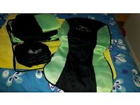 Universal Green Front&Rear Car Seat Covers Set