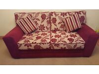 3 seater sofa & 2 chairs