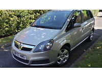 2007 VAUXHALL ZAFIRA 1.9 CDTI ONE OWNER FROM NEW,6 SPEED,VERY GOOD CONDITION