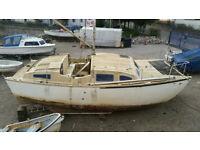 Heavenly Twins Catamaran (damaged)