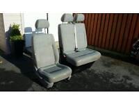 Vw transporter T5 front seats, inca pattern