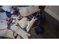 Cricket Bundle - Bag, shoes, bat, etc....