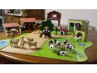 Lovely toy farm set great condition £25