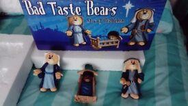 BAD TASTE BEARS RARE NATIVITY STAR OF BETHLEHEM XMAS LIMITED EDITION CLUB BEAR