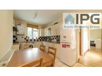 Bright & Airy 3 Bedroom Flat With No Lounge. Walking Distance To Whitechapel Overground Station