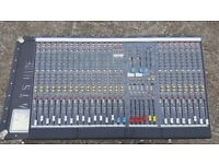 Allen and HeathGL2200 24 channel Mixing Desk with Flight case