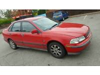 Bargain Volvo s40 long MOT drives excellent FIRST TO SEE WILL BUY NEEDS GONE!!