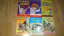 Francesca Simon Horrid Henry's books