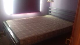4 6 steel frame double bed
