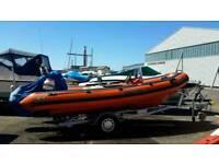 Avon D Rigid Inflatable Boat (rib)