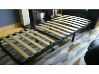 Single sofa bed. 6ft x 2 1/2 ft.