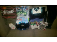 Job Lot of Boys Clothes Age 9-10 Years