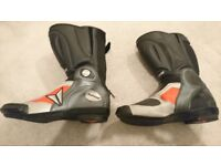 Dainese race boots UK size 9