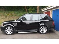Range Rover Sport Supercharged 4.2 V8 SC Fully loaded LAND ROVER service history Cheap TAX Bracket