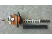 Stihl professional heavy duty petrol hedge cutter