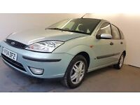 2004 | Ford Focus 1.6 Zetec | STEERING CONTROLS | 2 FORMER KEEPERS | 1 YEAR MOT | HPI CLEAR | CAT D